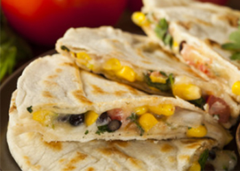 VEGETARIAN-QUESADILLAS