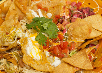 SOUR CREAM CHICKEN NACHO